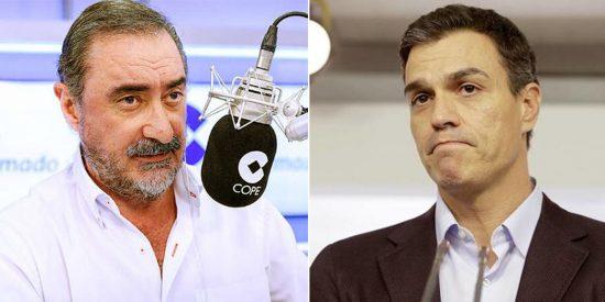 """El aviso de Herrera al """"embustero"""" Sánchez porque ya sabe cómo acabará: """"Éstos cobran en carne"""""""