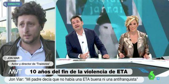 Esperpento de Iñaki López en laSexta para que nadie le arruine el blanqueamiento a Otegi