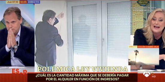 La amenaza de Elisa Beni a Daniel Lacalle que abochorna a los espectadores: «Ándate con cuidado»