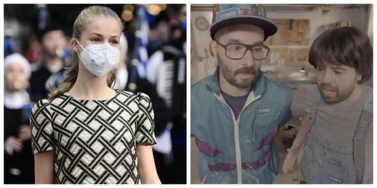 Machismo, pedofilia y asco en TV3 a costa de la princesa Leonor: el 'chiste' más repugnante de la historia