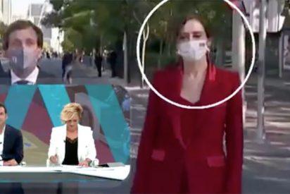 Las bobadas de López y Pardo (laSexta): así intentan desacreditar a Ayuso por sus gestos durante el desfile