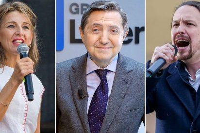 """Losantos se chotea del nuevo partido 'Yolandemos': """"Iglesias solo está mal enterrado"""""""