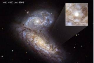 Insólito: Astrónomos logran ver la muerte de una estrella mientras sucedía