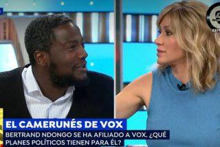 El negro de VOX desvela el motivo detrás del gracioso 'zasca' que dejó sin palabras a Susanna Griso
