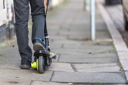 Madrid, la primera ciudad europea en implementar la 'alerta de Bird' para evitar patinetes en las aceras