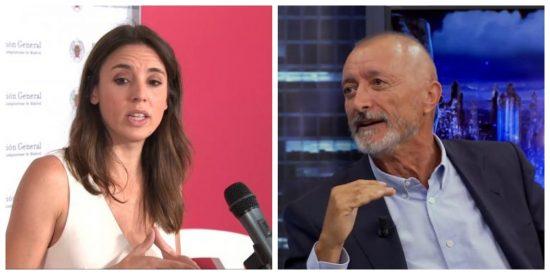 """Aplaudida humillación de Arturo Pérez-Reverte a Irene Montero en 'El Hormiguero': """"Soy anti-inclusivo radical"""""""