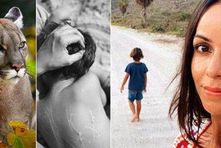 La cantante española que salva a su hijo, a puñetazos, de las zarpas de un puma