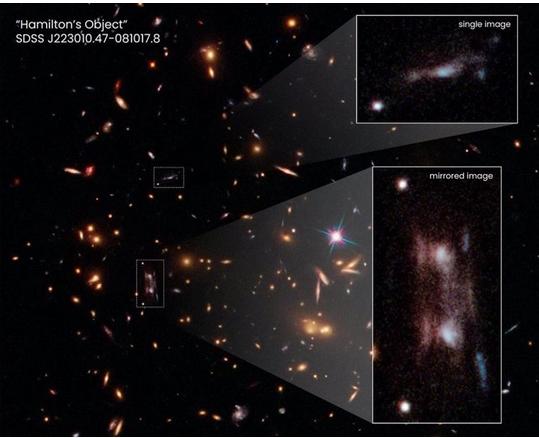 Cómo los científicos explican la existencia de una rara 'doble' galaxia