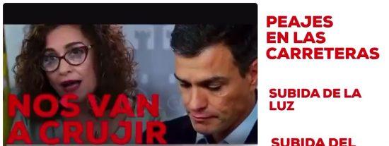 """El vídeo que desnuda al Gobierno PSOE-Podemos: """"No vamos a subir los impuestos ni a la clase media ni a la trabajadora"""""""
