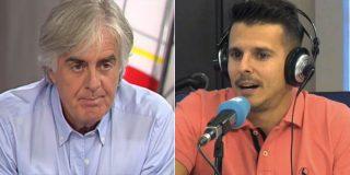 """Siro López se harta del tertuliano de COPE que defiende al árbitro del 'robo a España': """"¡Gilipollas!"""""""