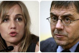Tania Sánchez sacude un zasca a Monedero con mensaje a su ex Pablo Iglesias