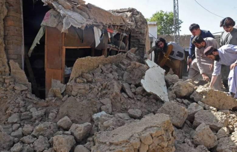 Más de 40 muertos en el terremoto que sacudió el sur de Pakistán