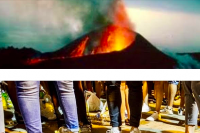 """José Manuel García Albarrán: """"Entre la erupción y el botellón"""""""