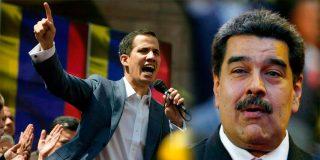 El dictador Maduro propone un 'carnet migratorio' para los colombianos y Guaidó le para los pies