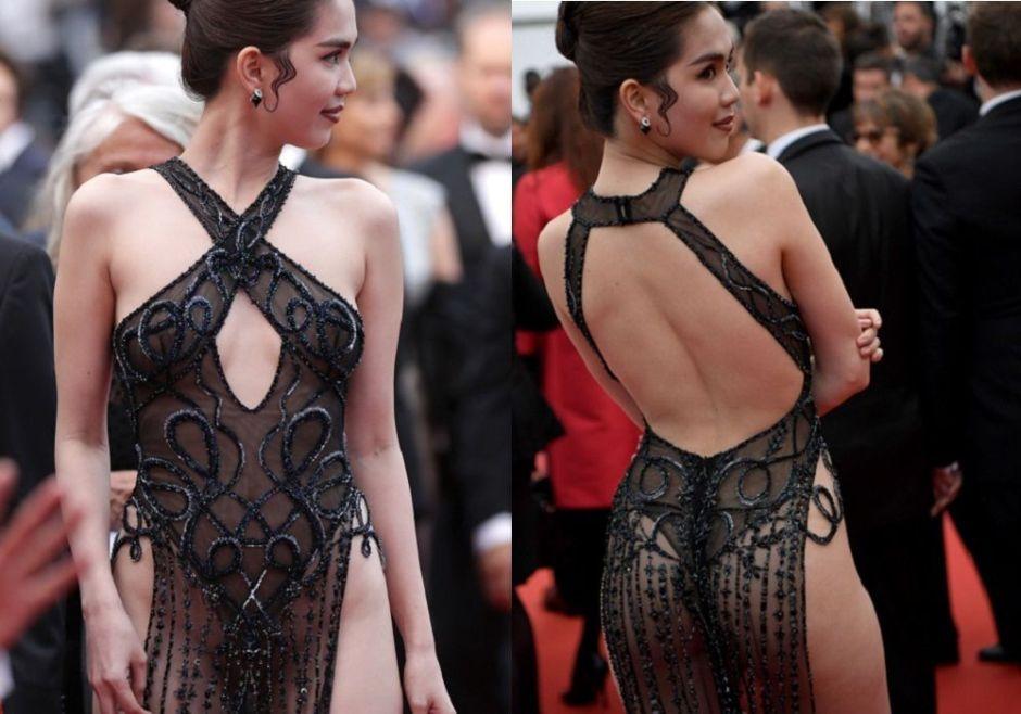 """Fotos: Una bella modelo vietnamita podría ser castigada por usar este """"ofensivo"""" vestido"""