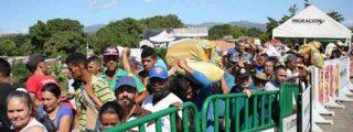 34.000 venezolanos ingresaron en Colombia el primer día de la apertura de la frontera